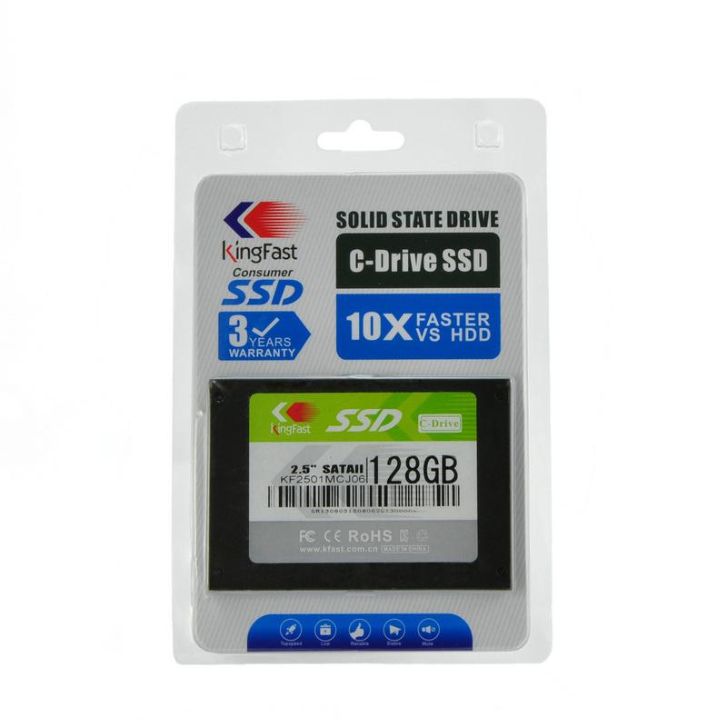 Kingfast J2 2.5 SATA II MLC interner Festzustands- Antrieb (SSD) (KF2501MCM 16GB)