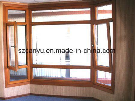 2017熱い販売のアルミニウム木製の合成の開き窓のWindows