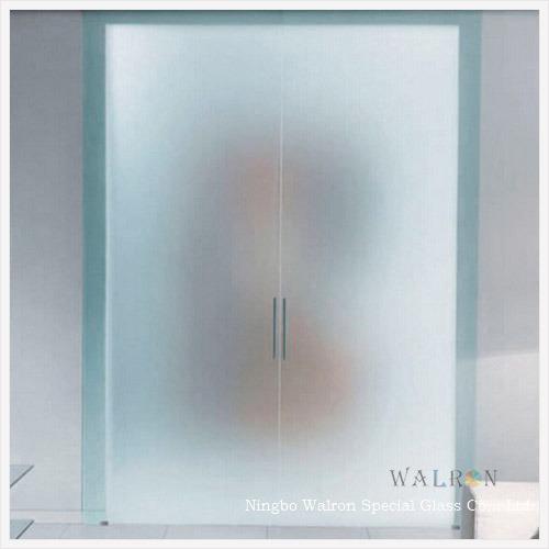 fa ade de verre avec cloison en verre d poli sabl obscurci verre de texture fa ade de verre. Black Bedroom Furniture Sets. Home Design Ideas