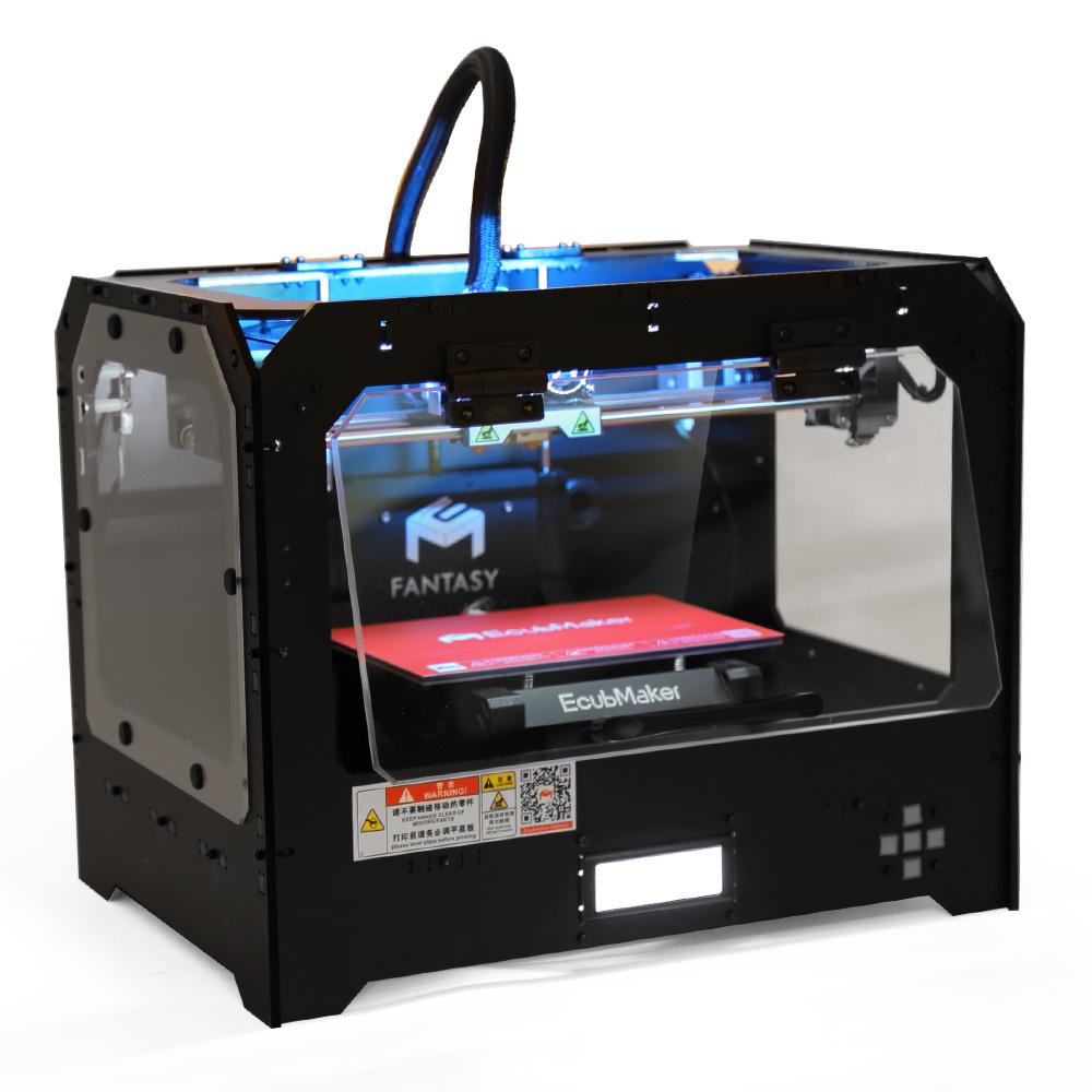 Stampante di alta precisione 3D di Ecubmaker con il grande formato 230*150*150mm di configurazione