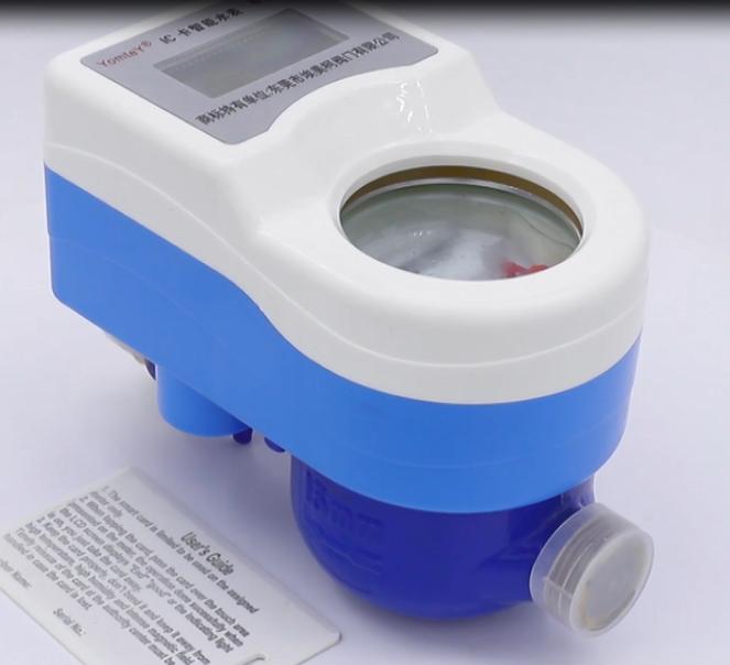 Contador de água pré-pago cartão IC