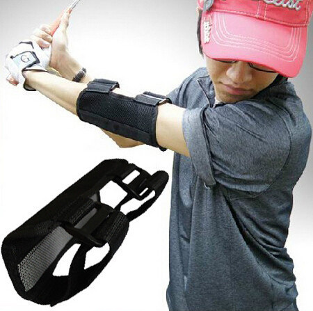 Golf-Schwingen, das geraden Praxis-Golf-Krümmer-Klammer-Korrektor-Support ausbildet