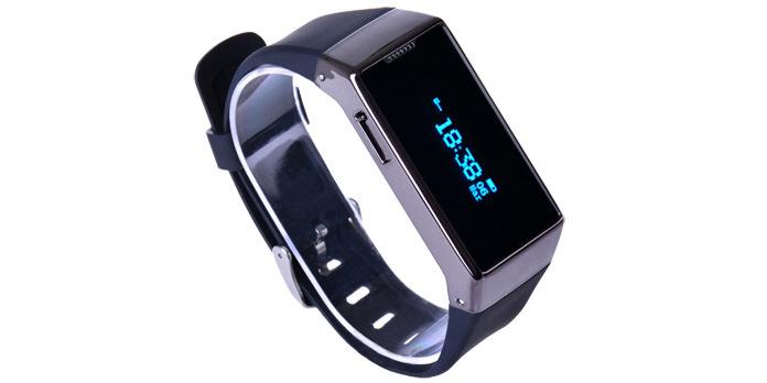 O Bluetooth Bracelete inteligente para desportos/Bracelete inteligente de borracha de silicone