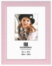 Moldura Fotográfica de PVC (L010-de-rosa)