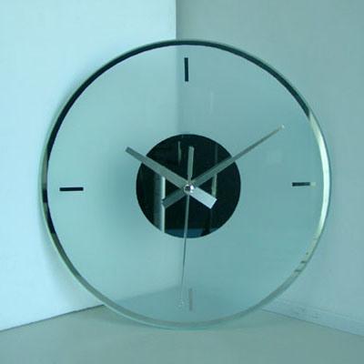 Horloge murale en verre (F42)