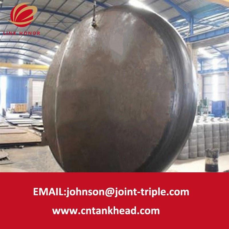 02-12 testa piana spessa del acciaio al carbonio della parete per il contenitore a pressione 7500mm*35mm