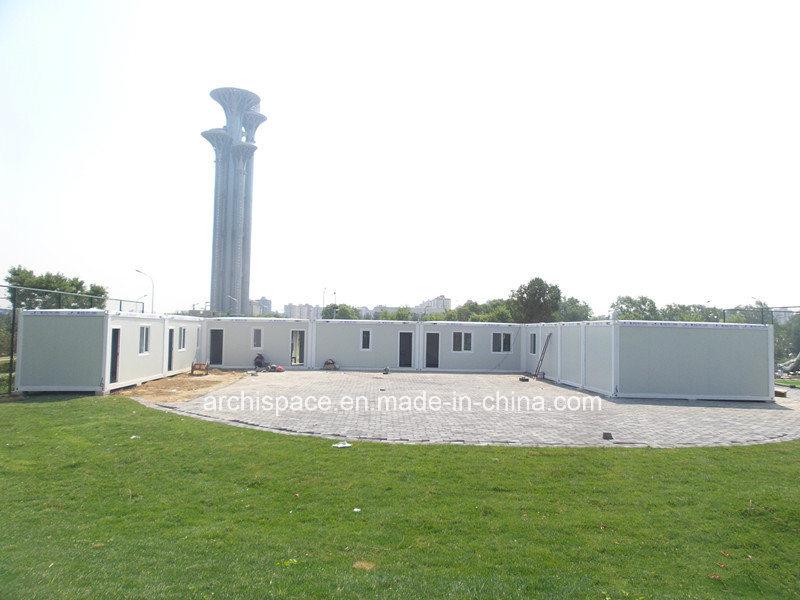 Archispace Flat Pack House para o Estádio Olímpico Clubhouse/como-F-102