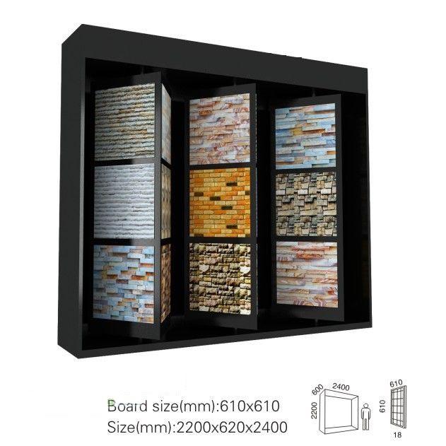 Display-System für Steinfliesen, Mosaik Display-Ständer