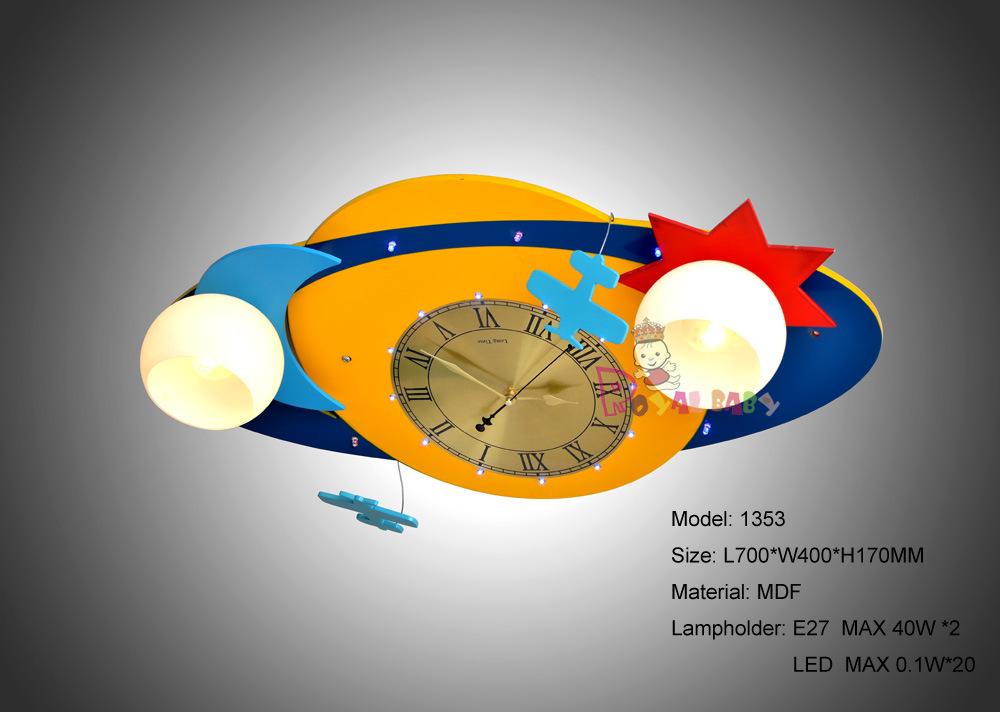 Voler A L Univers Lampe De Plafond Pour Les Enfants Salle 1353