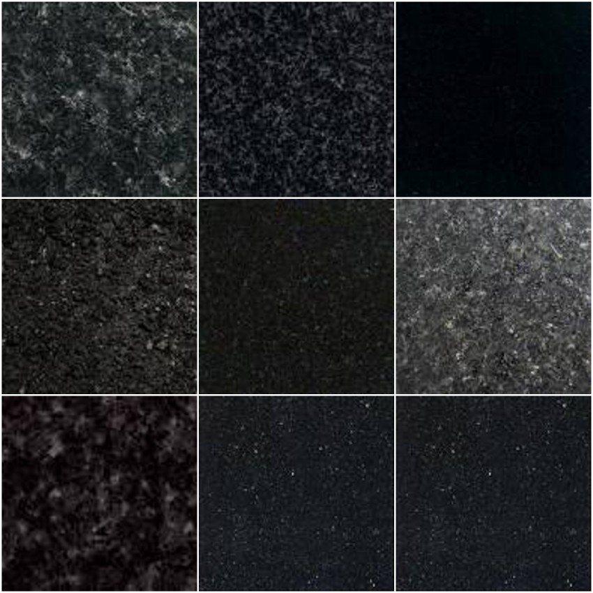 Mattonelle Nere Del Granito Il Nero Dello Shanxi Il Nero