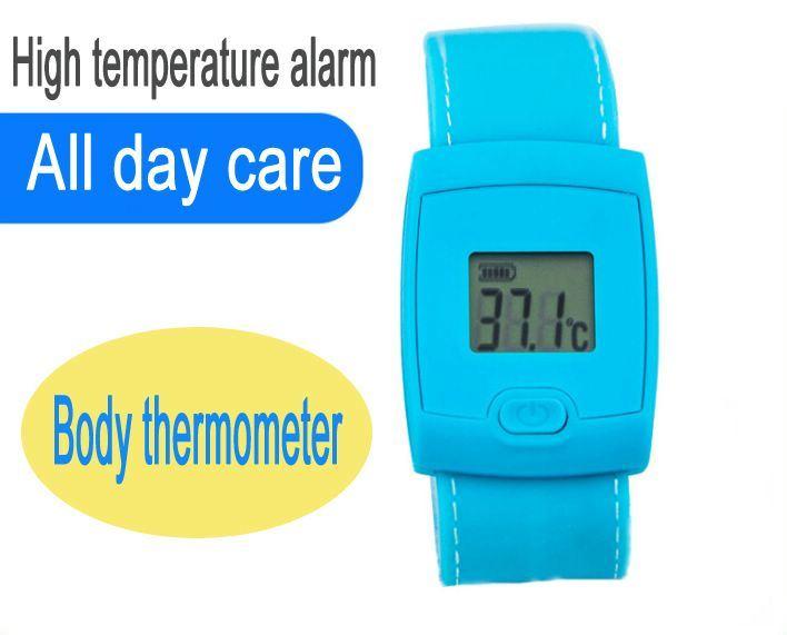 Volwassen Koorts Op hoge temperatuur van de Armband van de Thermometer van het Alarm van de Thermometer van het Kind van de Thermometer van het Menselijke Lichaam van de Armband van de thermometer de Intelligente
