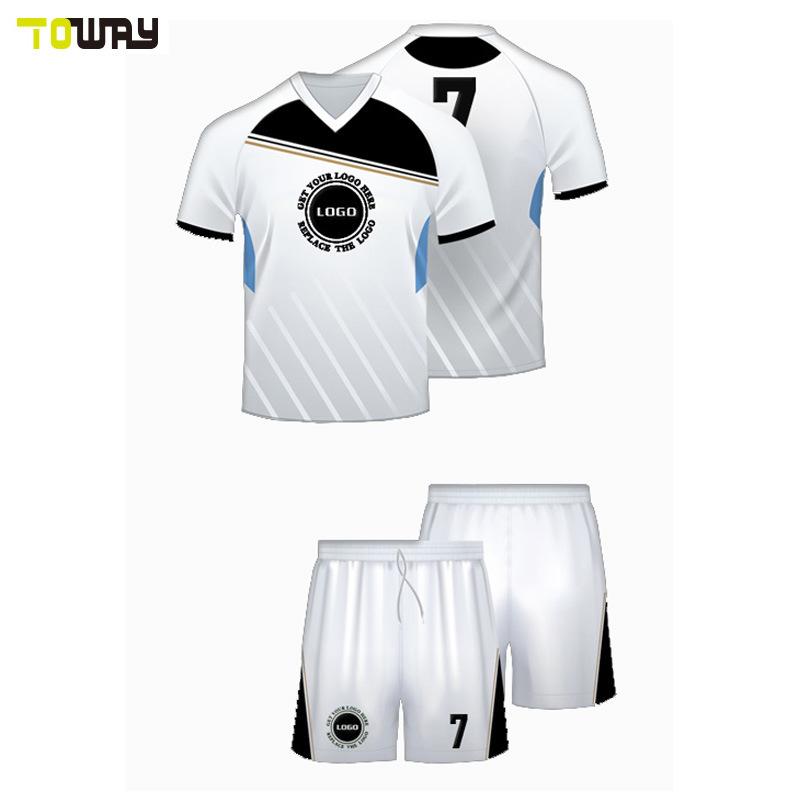 Camiseta de fútbol personalizadas sublimación Maker Soccer Jersey