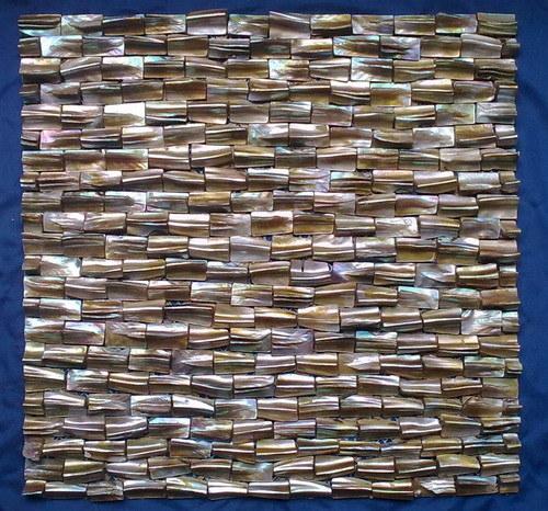 Arte em mosaico mosaico da Shell de ladrilhos, mosaicos de Shell do Mar (YBM8001)
