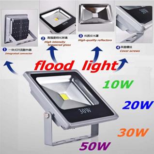 IP65 30W de plein air COB Projecteur LED CE/RoHS