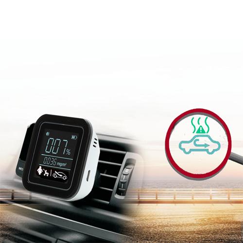 Coche nuevo Monitor de la calidad del aire Transmisor FM Coche