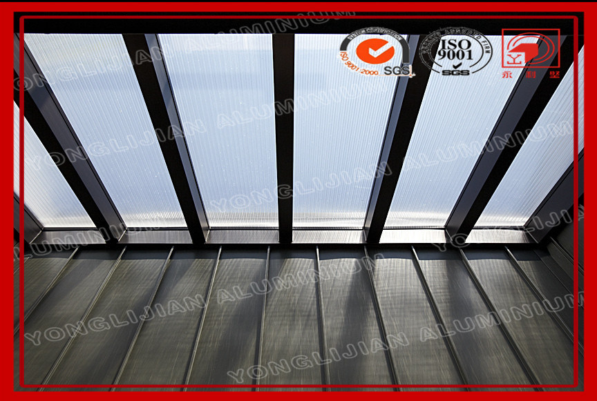 Fija en el REINO UNIDO tragaluz de aluminio para techo de pasillos y ...