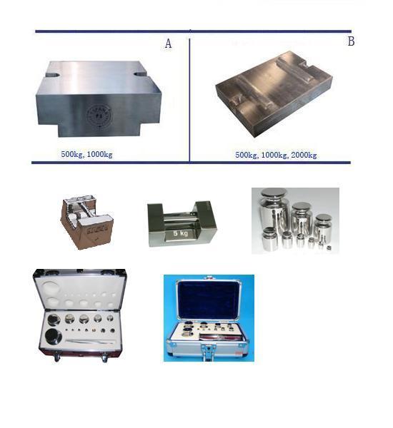 De Gewichten van het roestvrij staal