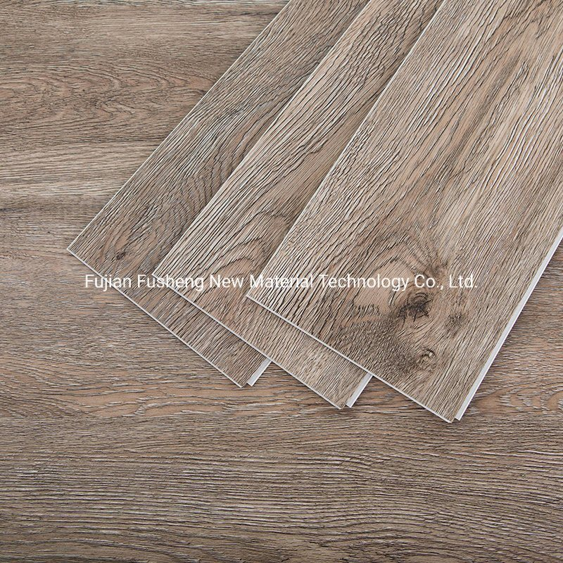 UV 코팅 Zero Formaldehyde 내구성 PVC Vinyl Spc Plank 바닥재