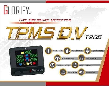 Système de Surveillance de Pression des pneus DV