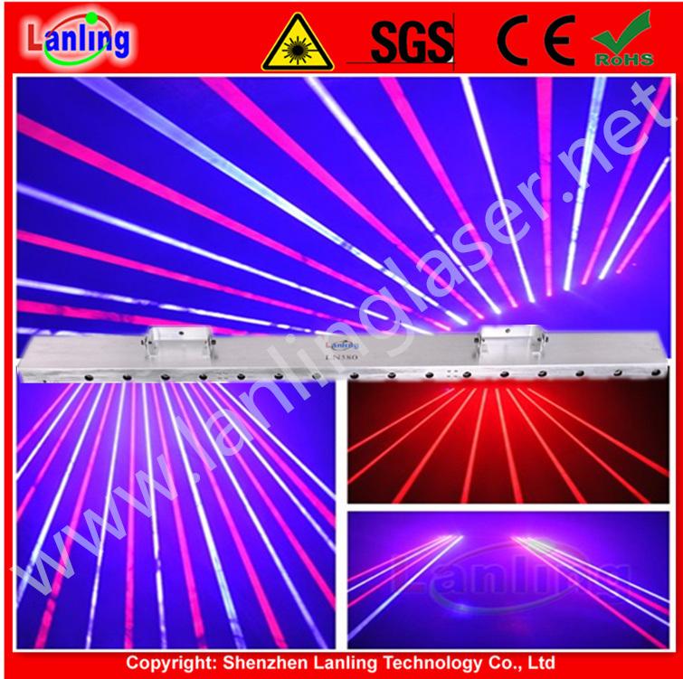 При отклонении от нормы бар Fat-Beam лазерный шторки чистый свет