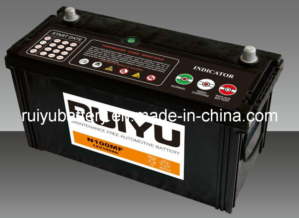 12V105AH JIS 105E41r-SMF Auto pila/batería de coche de plomo ácido