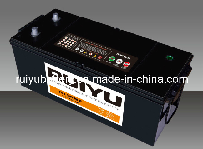 N150 Mf---145G51 MF--12V150AH/ Japón Standard/ batería del coche