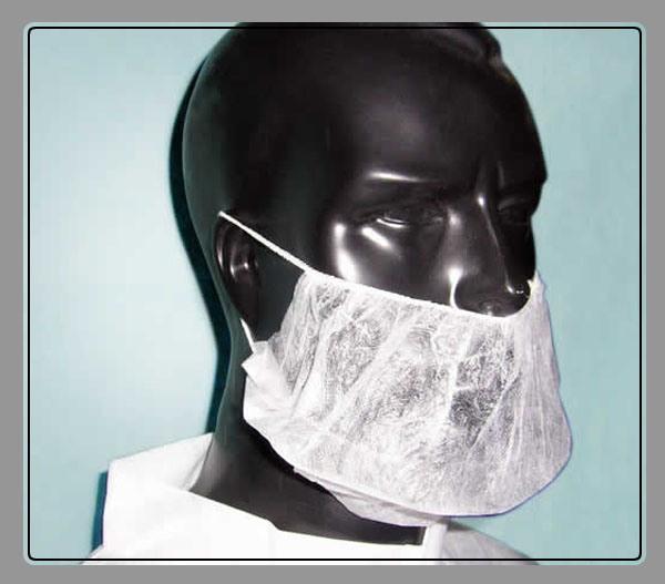 Nontissé couvre-barbe