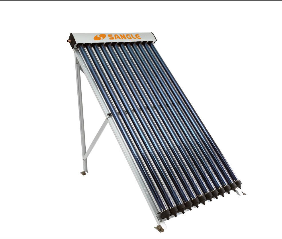 Split Échangeur de chaleur sous pression collecteur solaire tube à vide