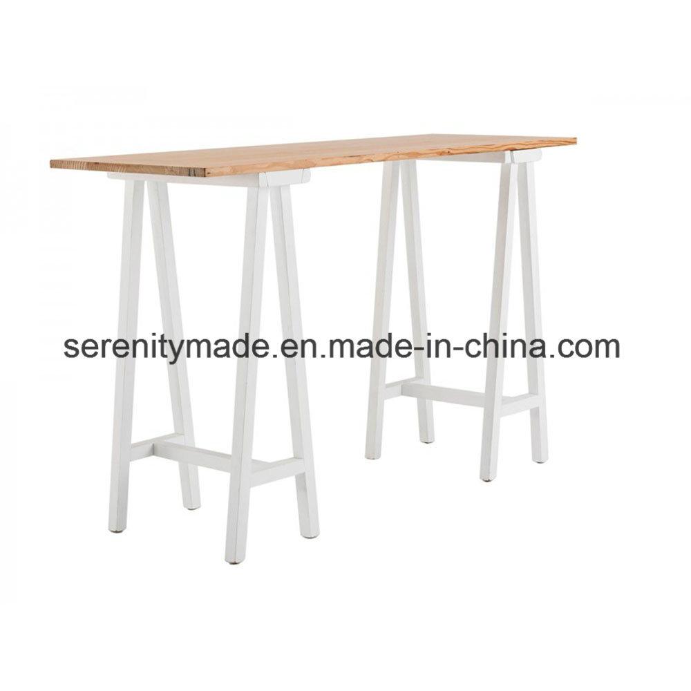 Foto de Muebles de Exterior banqueta blanca alta Cóctel Bar mesa de ...