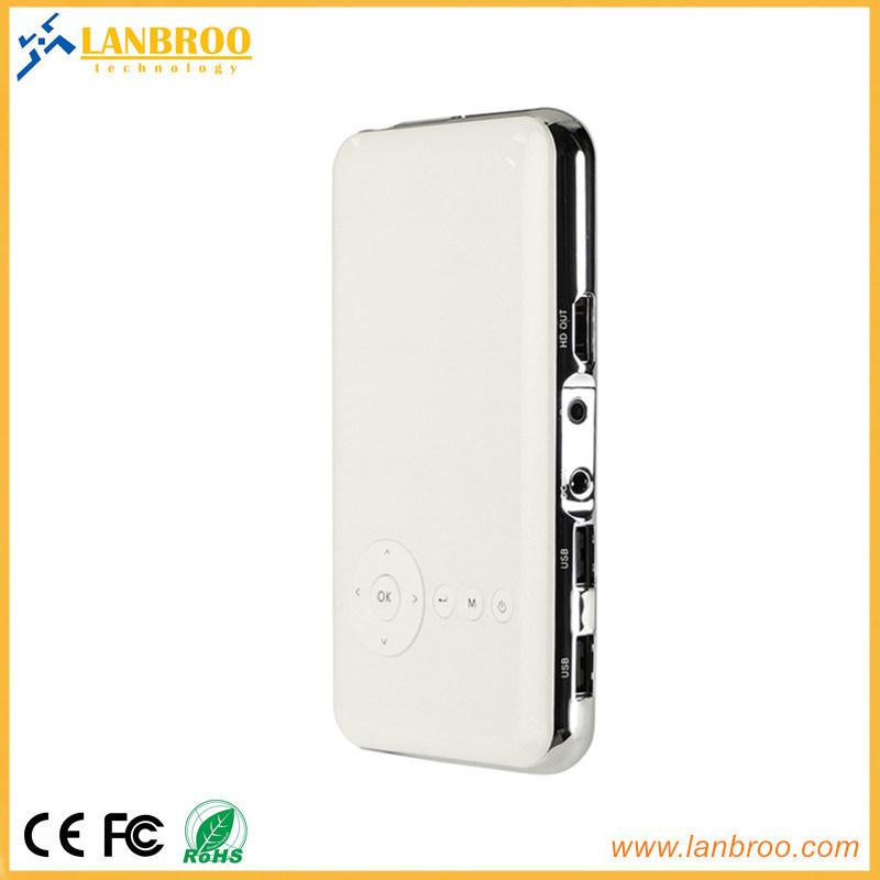 Ce/FCC/RoHS公認のPicoのプロジェクターが付いている携帯用プロジェクター