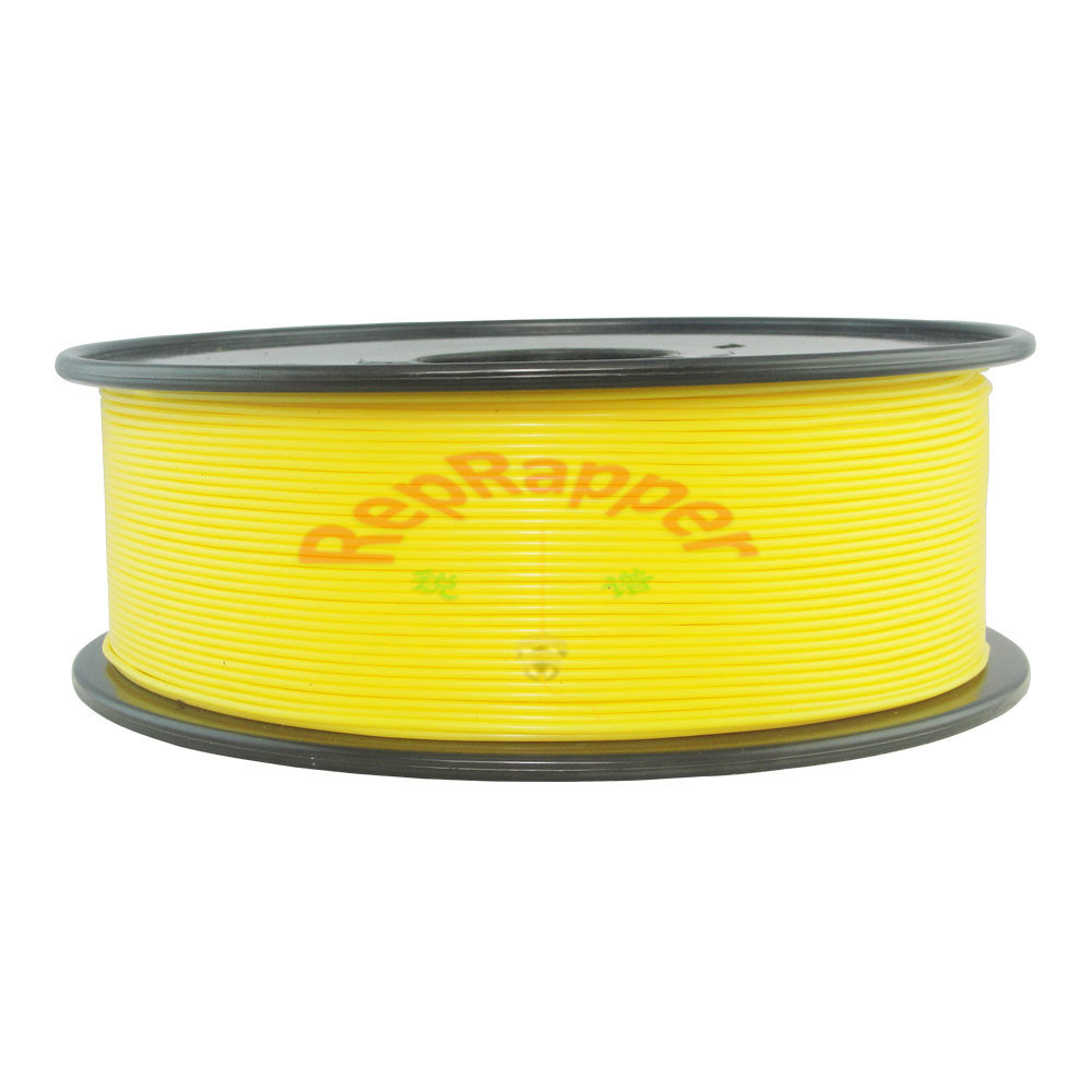 Coiling buono Flexible 1.75mm Yellow 3D Printing Filament
