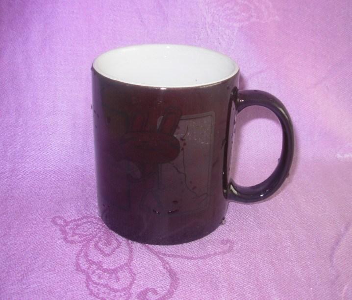 11oz personnalisé tasse à café en céramique sensibles à la chaleur pour la promotion (WSY151M)