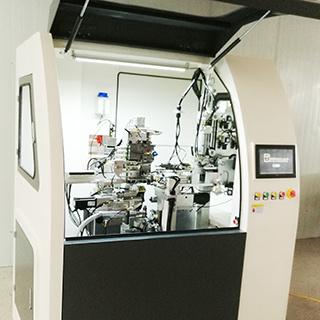 Les brosses Twist-dans la machine, le mascara de la Brosse brosse interdentaire produire de la machine, machine de tête de brosse