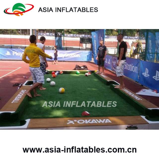 Foto De Inflables Interactivos Grandes Juegos De Mesa De Billar En