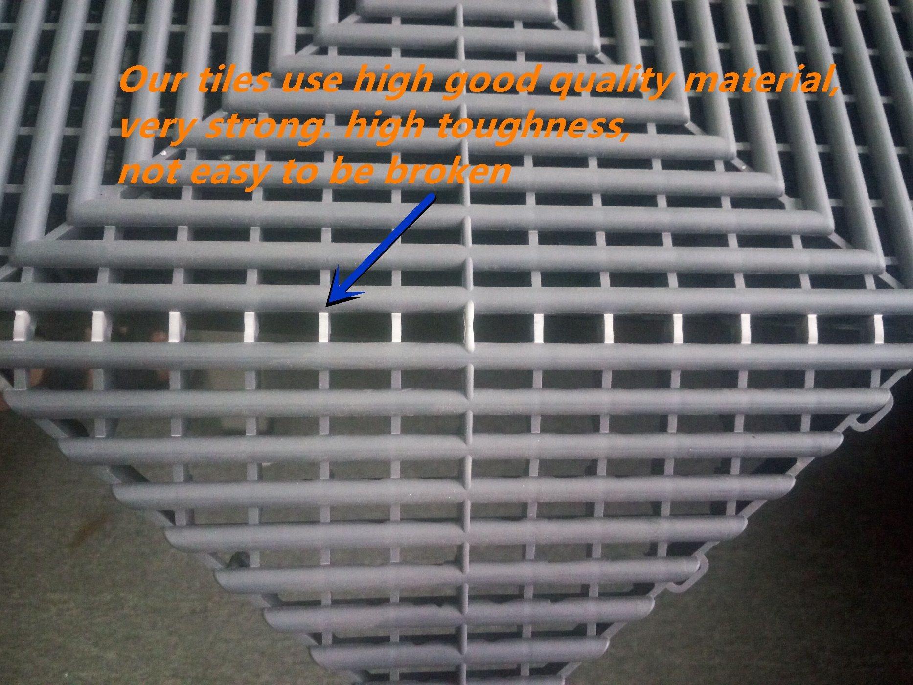 Revetement De Sol Pour Garage nervure de plancher en plastique pvc pour garage, carrelage