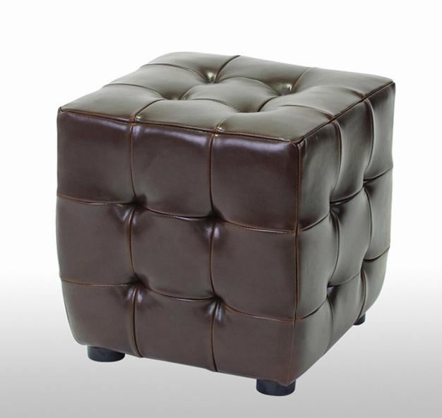 Foto de Cuero Partido Muebles Cubo Taburete otomano en es.Made-in ...