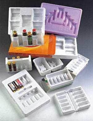 Produtos farmacêuticos e produtos de saúde embalagem blister