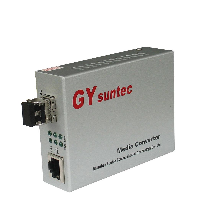 1 Fibre-Media-Konverter für 2 UTP 10/100Mbps (MC0102F)