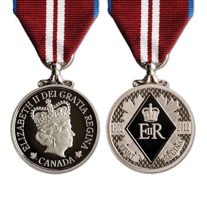 b6323e3b5a9d 3D personalizadas de aleación de zinc Fundición Canadá antiguos recuerdos  de esmalte de plata medalla de