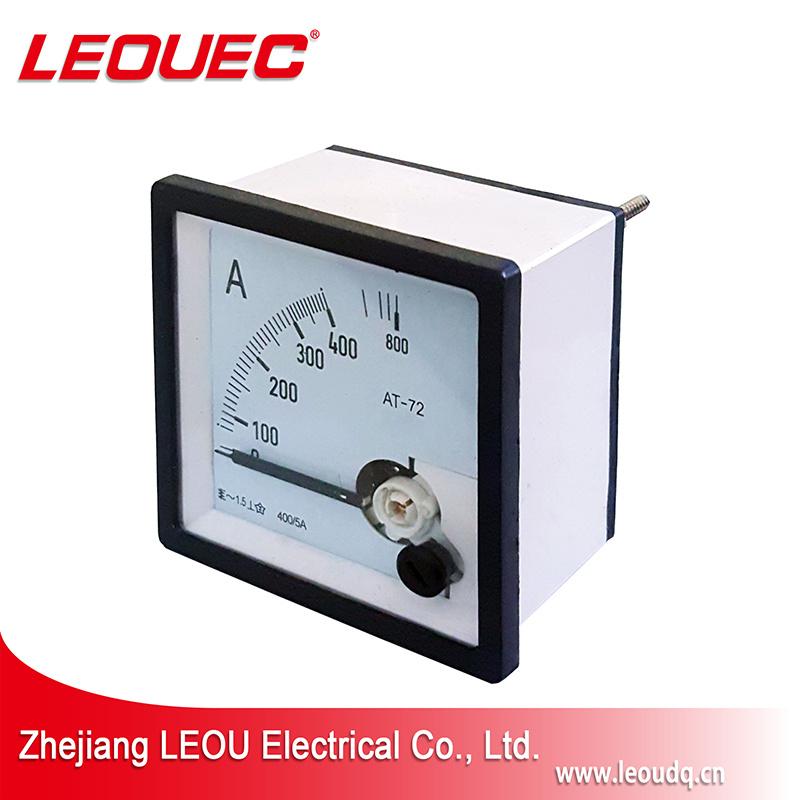 72*72mm Voltímetro AC DC medidor do painel analógico