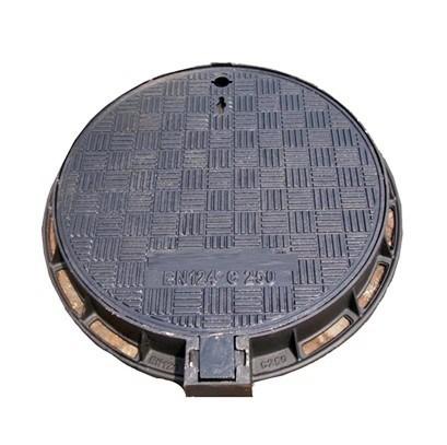 C250 plaque d'égout ductile