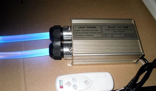 二重頭部が付いている16W繊維光学LEDの軽いエンジン