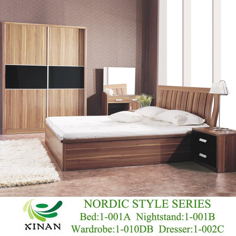 Casa moderna de la base de almacenamiento de uso de la cama (1-001A ...