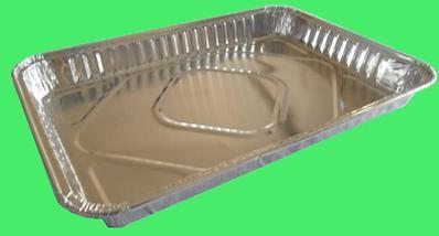 """12,5"""" прямоугольного контейнера из алюминиевой фольги (C032)"""