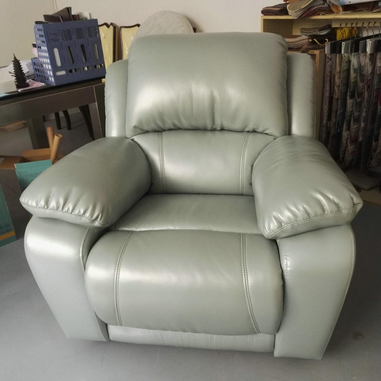 Foto de Muebles de Salón hogar, muebles, sofá reclinable de cuero ...