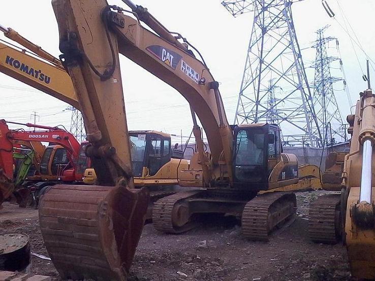 Caterpillar excavadora Cat 330c, la excavadora utilizada