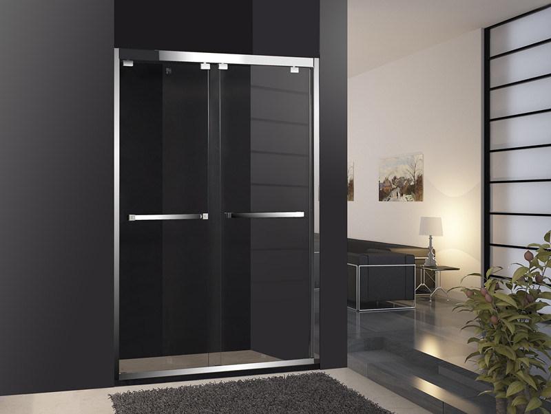 Puertas de ba o simple de acero inoxidable para puertas for Cabina de ducha easy