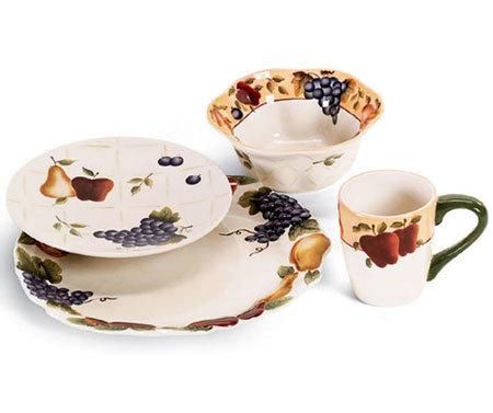 Stoviglie da tavolo in ceramica