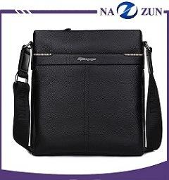 Китай поставщиков моды мужчин баодяне футляр из высококачественной натуральной кожи документ сумку с Zip