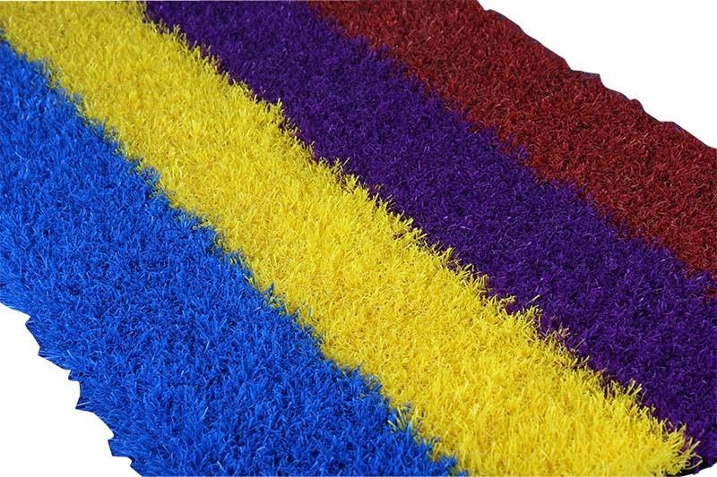 Kleurrijk Kunstmatig Gras